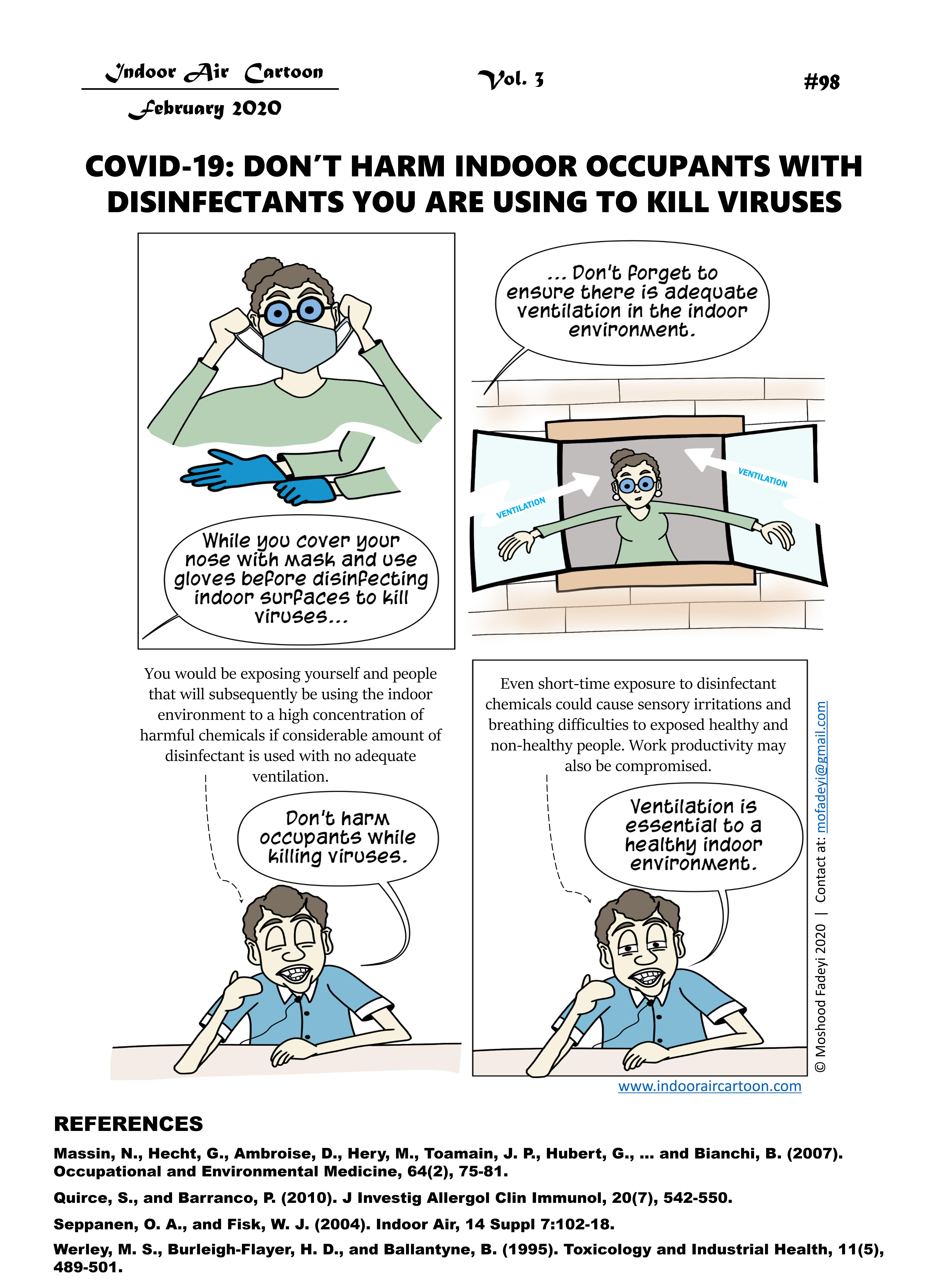 98. Ventilation Disinfectant_98